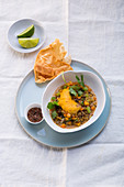 Vegetable curry with lentils and carrots (Asia)