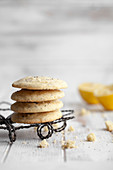 Lemon and poppy seed cookies