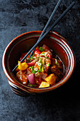Sweet and sour pork belly