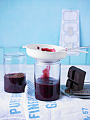 Black Forest Cherry jam with chocolate