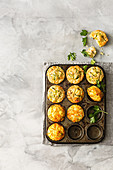 Zucchini slice muffins - coconut and raspberry banana bread muffins - Zucchini, carrot and honey muffins