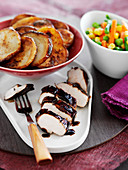 Balsamico glazed chicken