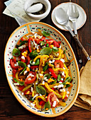 Mixed Pepper Salad with Capers