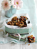 Summer fruity nut bars