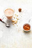 Vegan almond and spice mix