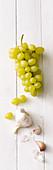 Grapes and garlic
