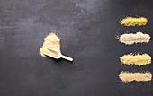 Couscous, Bulgur, Quinoa, Hirse und Amarant