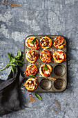 Schnelle einfache Pizza-Muffins