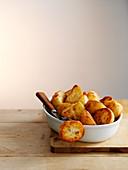 Bratkartoffeln mit Gabel