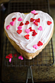 Heart shaped Mini Cake