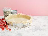 A tart base for blind baking