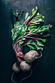 Beetroot, bundled