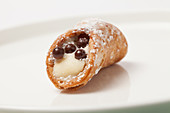 Cannoli with icing sugar (Italy)