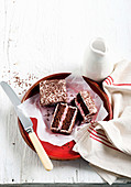 Inside-out lamingtons
