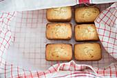 Unfinished Mini Coconut Cakes