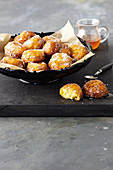 Citrus and ricotta fritters