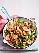 Mussel and Prawn Stir Fry