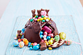 Easter Egg Smash Cake