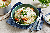 Leek and Vegetable Risotto