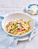 Smoked Trout Fettucine