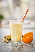 A naranjilla and banana smoothie (South America)