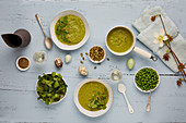 Pea soup for Easter
