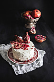 Pomegranate Layer Cake