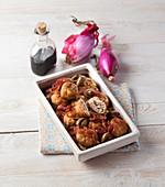 Pork Meatballs with Onion
