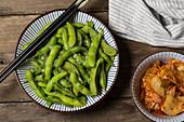 Edamame (oriental appetizers)