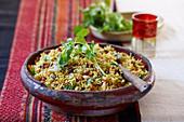 Persian rice pilaf