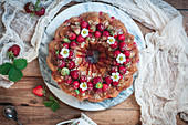 Strawberry Cheesecake Monkeybread