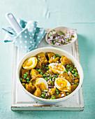 Indisches Kartoffel-Eier-Curry