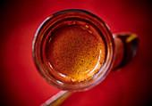 Espresso mit Crema (Aufsicht)
