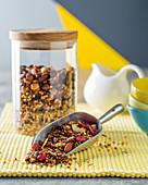 Cinnamon Buckwheat granola