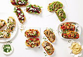 10 ways with Bruschetta