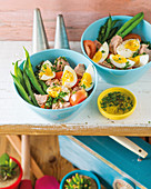 Fresh and flavourful sort of niçoise salad