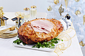 Christmas with Woman s Day - All the trimmings! - Ginger & Mustard Glazed Ham