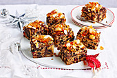 Christmas with Woman s Day - Take One Christmas Fruit Cake Mix.. - Orange & Dark Chocolate Christmas Slice