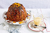 Christmas with Woman s Day - Take One Christmas Fruit Cake Mix.. - Orange & Dark Chocolate Christmas Pudding