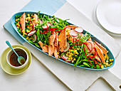 Japanese Trout and Pea Salad