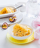 Lemon and Passionfruit Sorbet