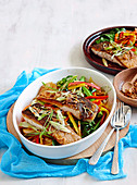 Sweet and sour barramundi