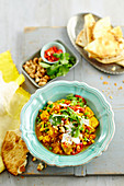 Lentil and cashew curry