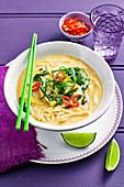 Thai Chicken and Corn Soup