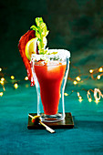 Bloody Mary mit Bacon, Zitrone und Sellerie