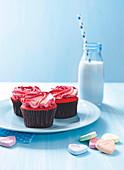 Rose cupcakes