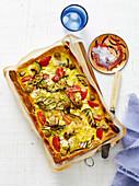 Ricotta and Zucchini Tart