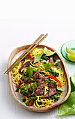 Beef and lemongrass stir-dry