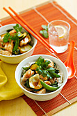 Plum Fish stir-fry