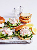 Prawn and Avocado Sliders